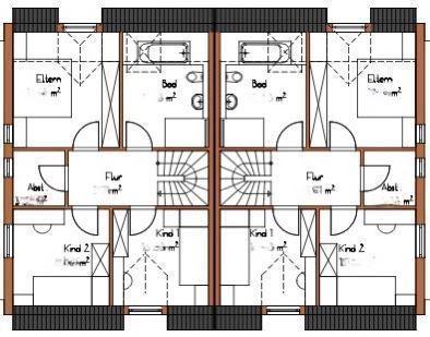 Muster Dachgeschoss